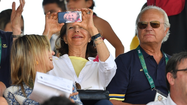 Swedish Queen's Cell Phone Case Takes Olympic Gold