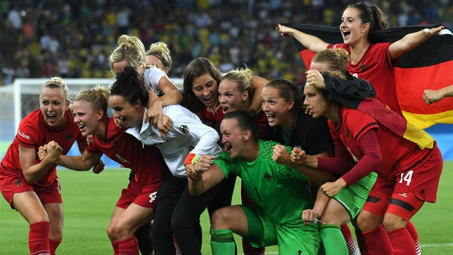 Women's Soccer: Germany Beats Sweden for Gold