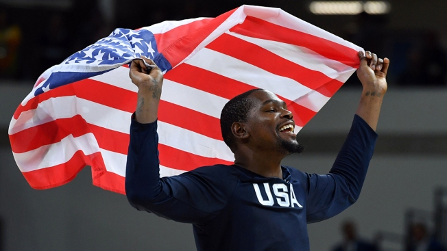 Men's Basketball: US Beats Serbia for 3rd Straight Gold Medal