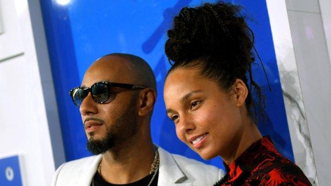 Swizz Beatz Defends Wife Alicia Keys' Make-Up Free VMAs Look