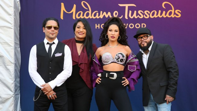 Selena's Wax Figure Shocks Her Family Members