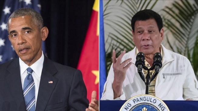 Obama, Duterte Meet Despite Filipino Leader's Crude Language