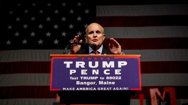 Giuliani No Longer in Running for Trump Cabinet Position