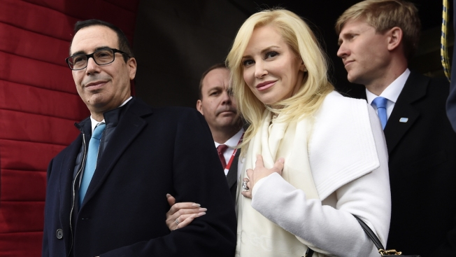 Glam Shot Gets Ugly: Mnuchin's Wife Touts Style, Slams Critic