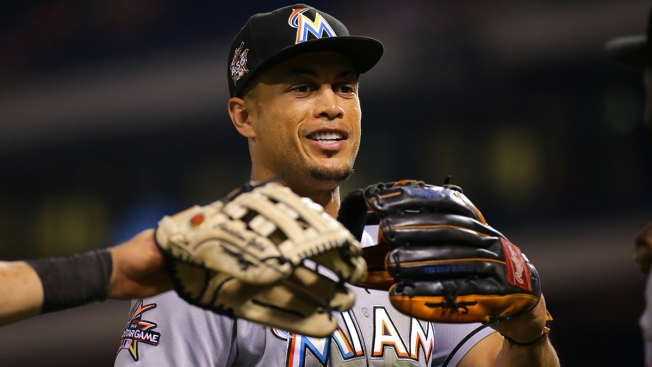 Giancarlo Stanton joins 50-homer club