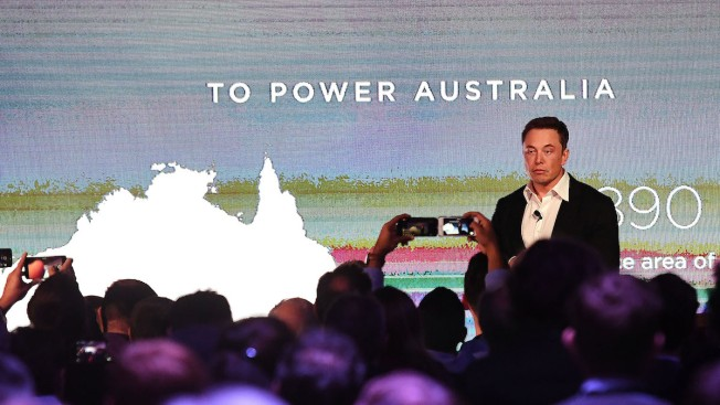 Elon Musk's massive battery is up and running in South Australia