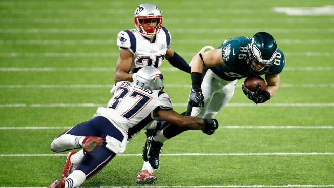 Patriots Defense Pushed Around in Super Bowl Loss to Eagles
