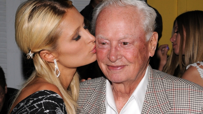 Paris Hilton Mourns Death of Grandfather, 'Incredible Mentor' Barron Hilton
