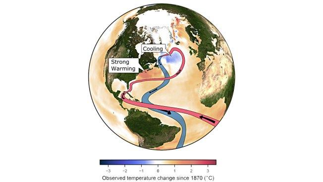 Global Warming Is Weakening Key Ocean Circulation: Study