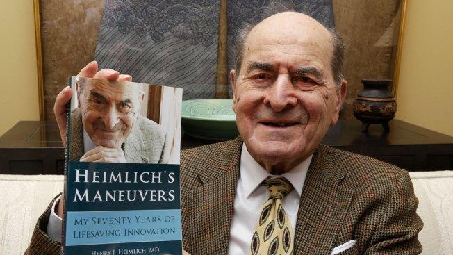 Henry Heimlich, Life-Saving Maneuver Creator, Dies at 96