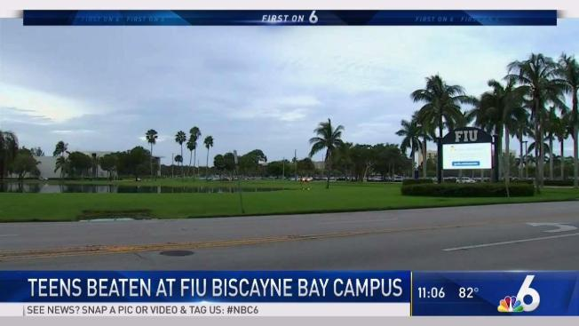 Biscayne Bay Campus Map.Students Hospitalized After Being Brutally Beaten At Biscayne Bay
