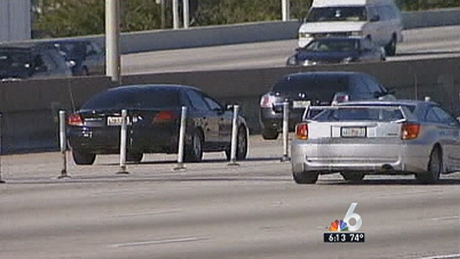 FHP Cracking Down on Drivers Who Cut Into Express Lanes