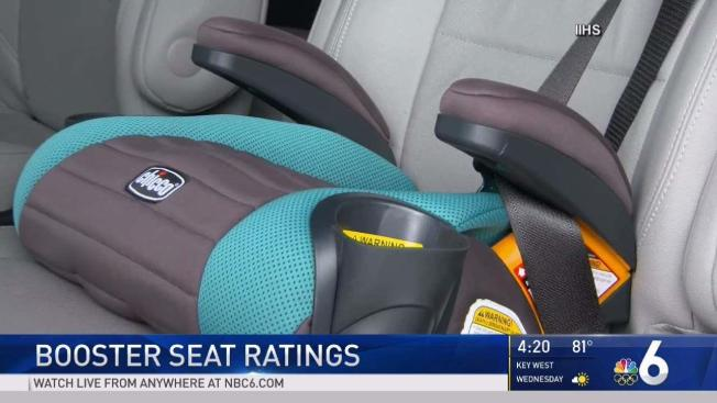 IIHS Releases 2017 Booster Seat Ratings - NBC 6 South Florida
