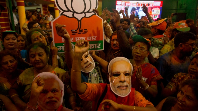 India's Ruling Party Claims Win With Assured Lead in Votes