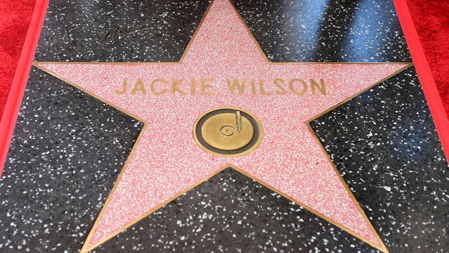 Singer Jackie Wilson Posthumously Receives Hollywood Walk of Fame Star