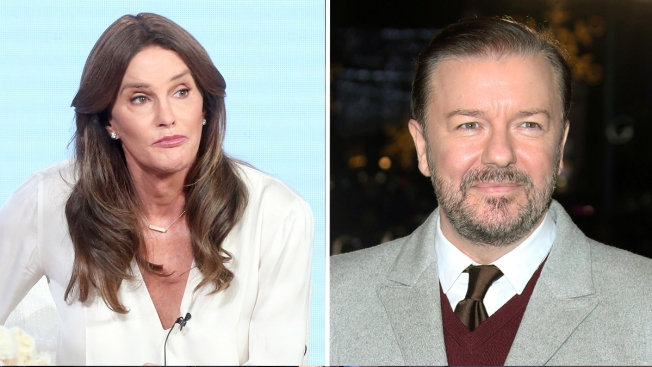 Caitlyn Jenner Wants Ricky Gervais Out as Golden Globes Host