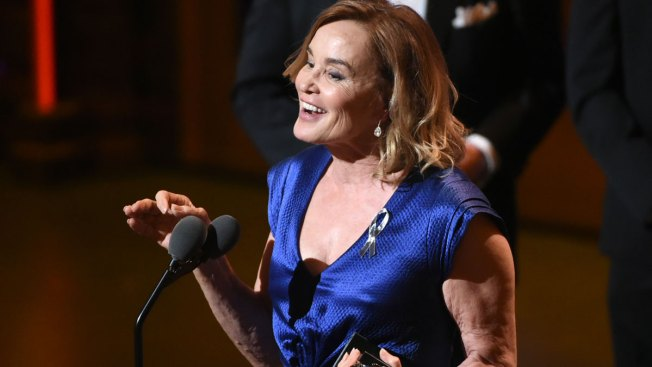 Jessica Lange Wins Her First Tony Award