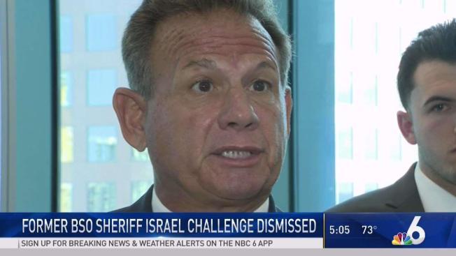 Scott Israel Appeals Judge's Ruling in Suspension ...