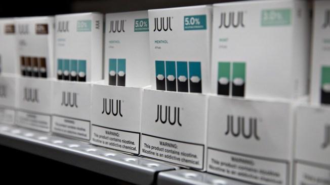 E-Cig Maker Juul Halts Sales of Its Popular Mint Flavor