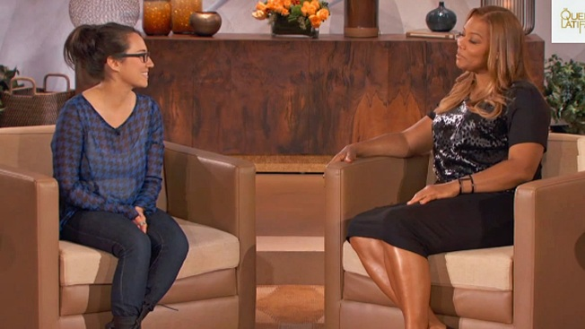 """Queen Latifah Offers """"I Quit"""" Video Girl a Gig"""
