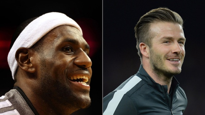 LeBron James on David Beckham's Plan to Bring MLS to Miami: 'We're Working On It'