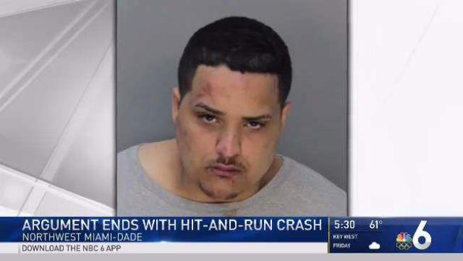 man arrested after hit and run crash in miami dade sends two women