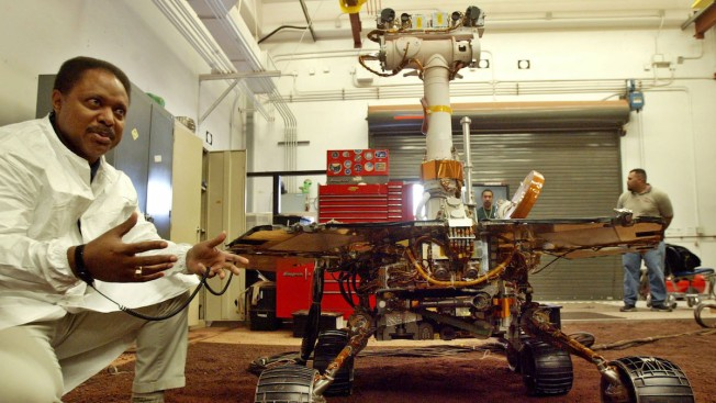 NASA Rover Knocked Out as Gigantic Dust Storm Envelops Mars