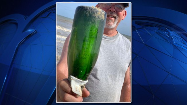 Message in Bottle, Sent Off Martinique, Found on Texas Beach