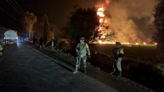 Death Toll Reaches 85 in Mexico Fuel Pipeline Fire Horror