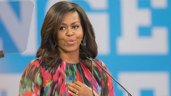 Michelle Obama Book Tour Getting Rock Star Treatment