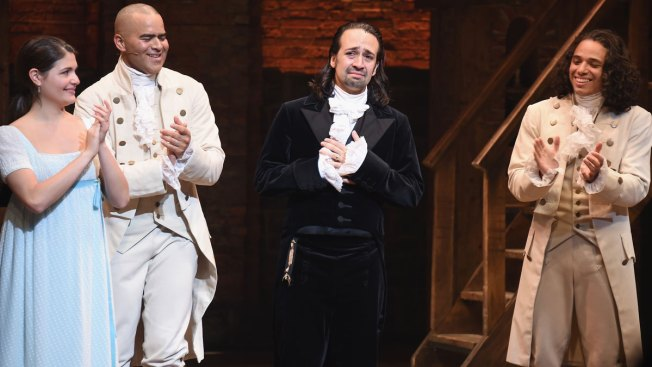 Lin-Manuel Miranda Says Goodbye to 'Hamilton'
