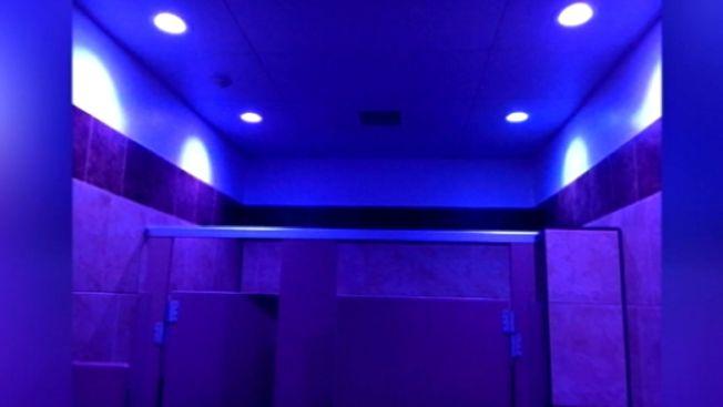 Pa. Gas Station Hopes Blue Lights in Bathroom Can Deter Drug Use ...