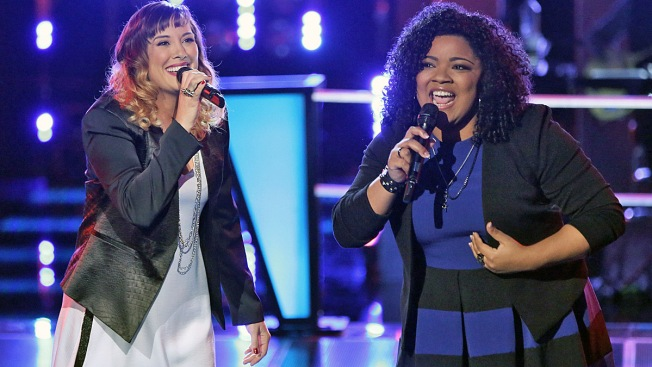 """""""The Voice"""" Battle Rounds: Usher Uses Last Steal to Grab Cierra Mickens"""