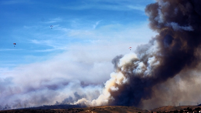 Police Suspect Arson in Some Calif. Wildfires