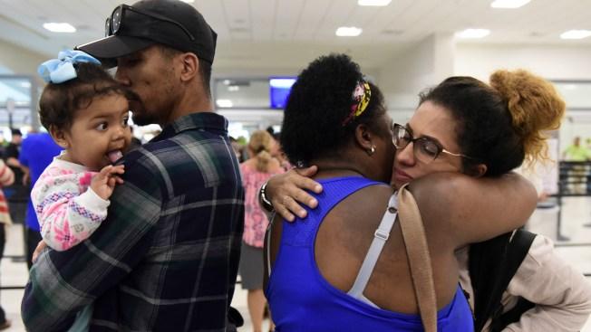 Hurricane Sets Off Fierce Debate About Leaving Puerto Rico