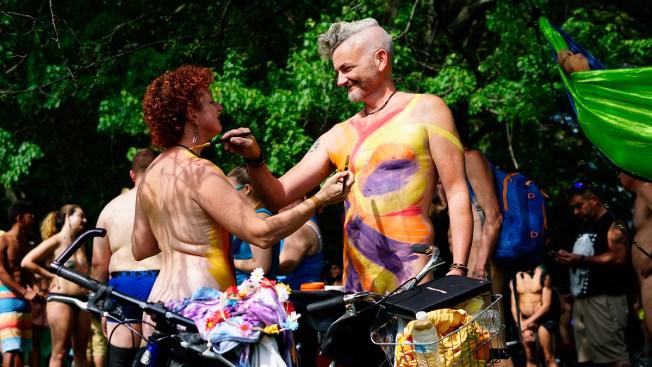 Strip Down, Saddle Up: Naked Bikers Hit Philadelphia Streets