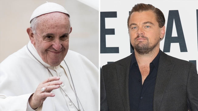 Pope Meets With Fellow Green Campaigner, Leonardo DiCaprio
