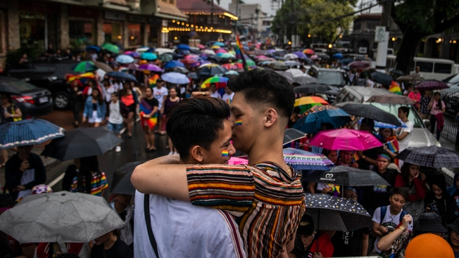 Tens of Thousands Join Gay Pride Parades Around the World