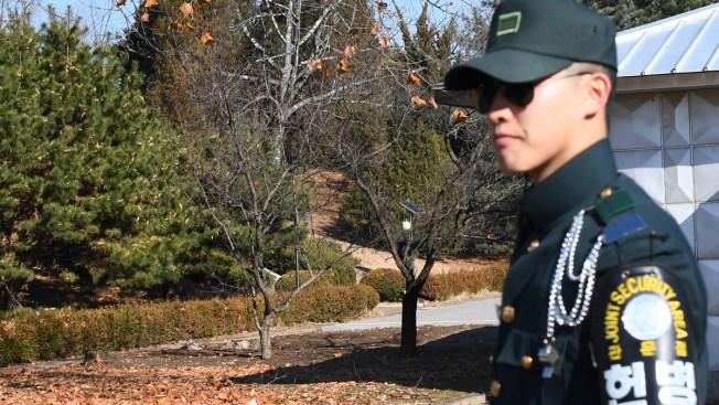 North Korean Soldier Defects; South Korean Warning Shots Turn Back His Pursuers