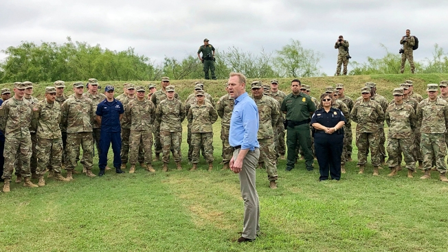 Shanahan Says Military Won't Leave Until Border Is Secure