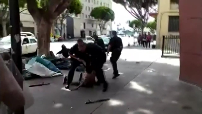 No Charges for LAPD Officers in Shooting of Homeless Man