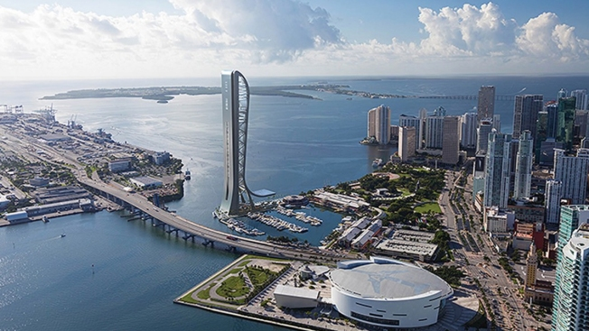 Planned 1,000-Foot Miami Tourist Tower Sparks Politics Scrum