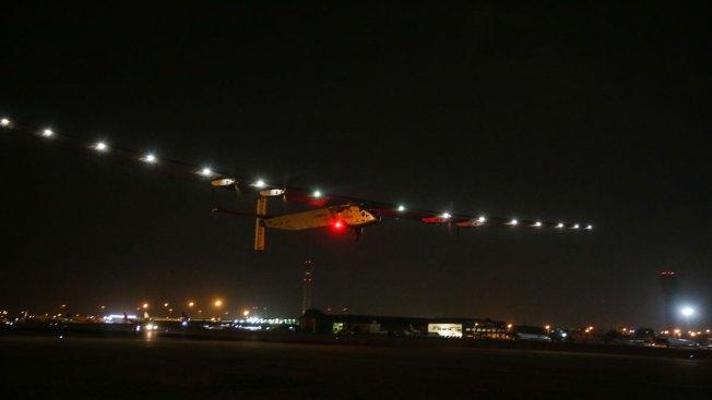 Solar Plane Leaves Cairo on Last Leg of Globe-Circling  Trip