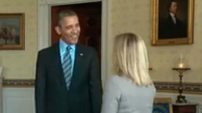 President, First Lady Surprise White House Tour Visitors