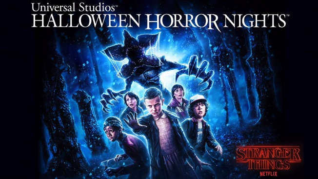 'Stranger Things,' Other Terrors at Universal Orlando for Halloween