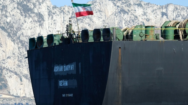 Iranian Tanker Sought by US Heading Toward Greece