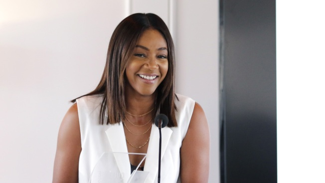 Tiffany Haddish apologizes for Bill Cosby joke gone wrong