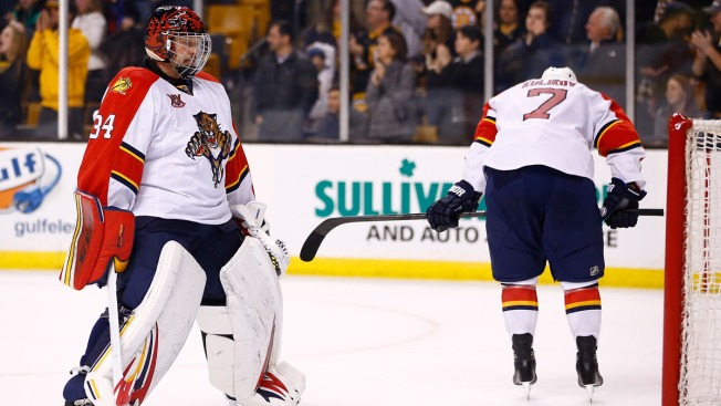 Florida Panthers Beaten by Bruins, 4-1