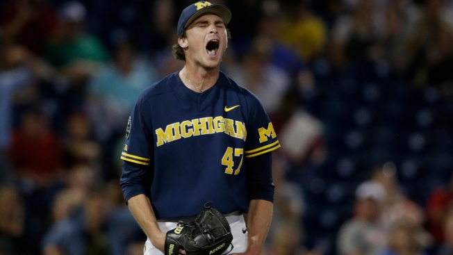 FSU One Game From Elimination After Shutout Loss to Michigan in College World Series