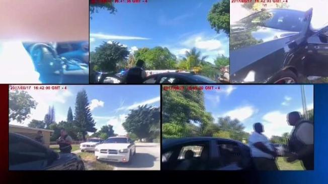 Traffic Stop by MDPD Caught From Several Body Cam Angles